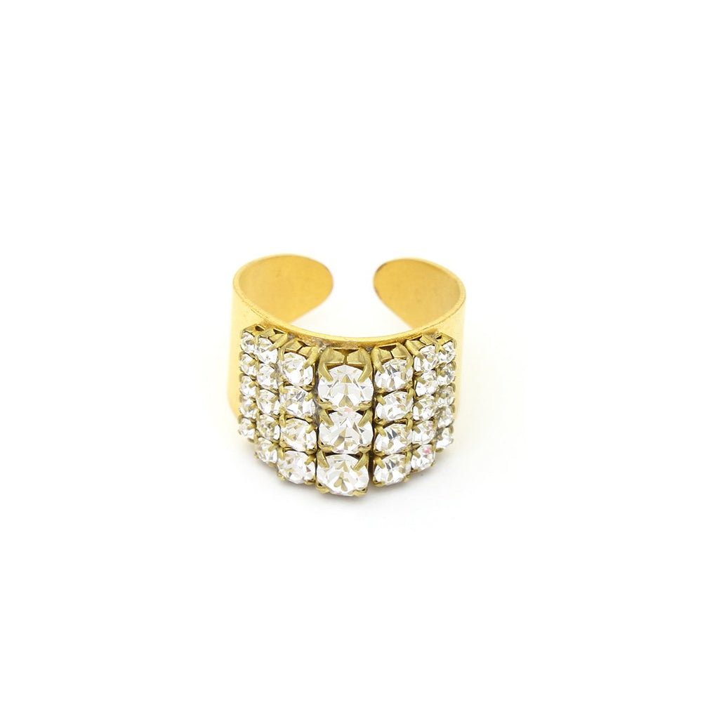 Embellished Ring | Sandy Hyun | Fashion Accessories | Rings