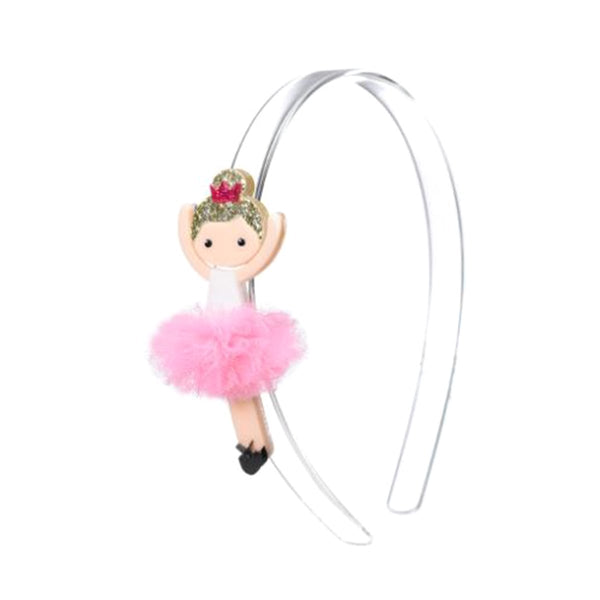 Ballerina Lt Pink Head Band | Lilies and Rose | Kids | Hair Accessories