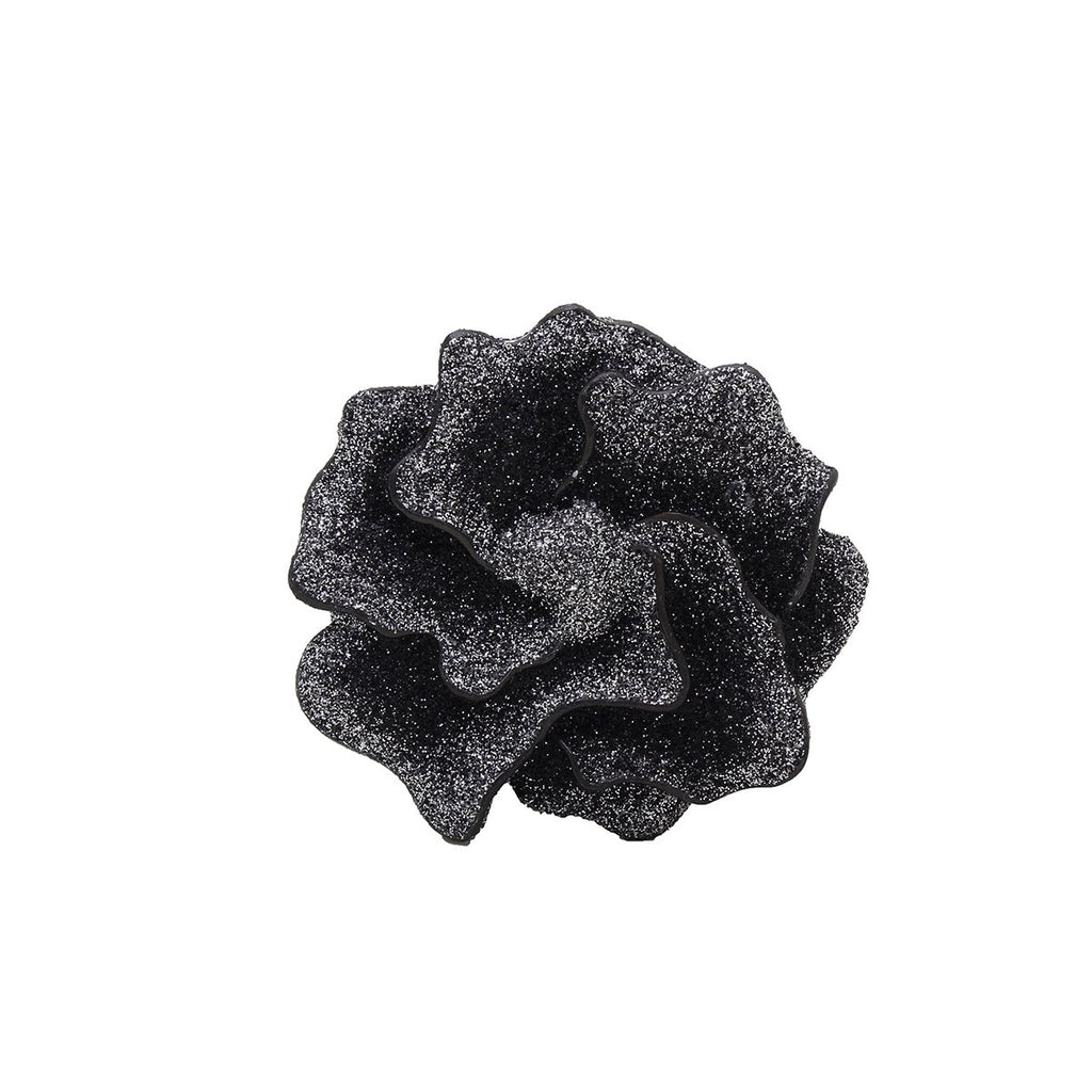 Nola Big Glitter Flower | KMO | Fashion Accessories | Brooches
