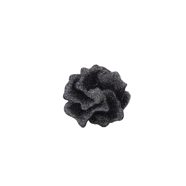 Nola Glitter Flower Brooch | KMO | Fashion Accessories | Brooches