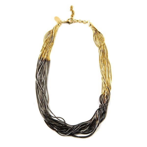 Multi Wires Necklace |Iosselliani | Fashion Accessories |Necklaces