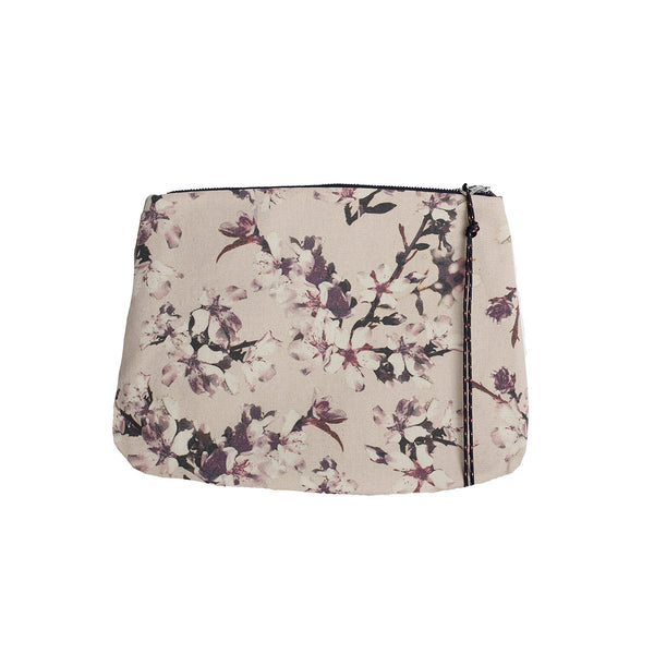 Cherry Pink Canvas Pouch | Zubi | Bag | Pouch | Clutch Bag