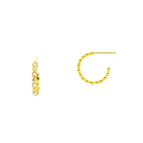 All Around Hoop Earrings | Tai | Fashion Accessories | Earrings
