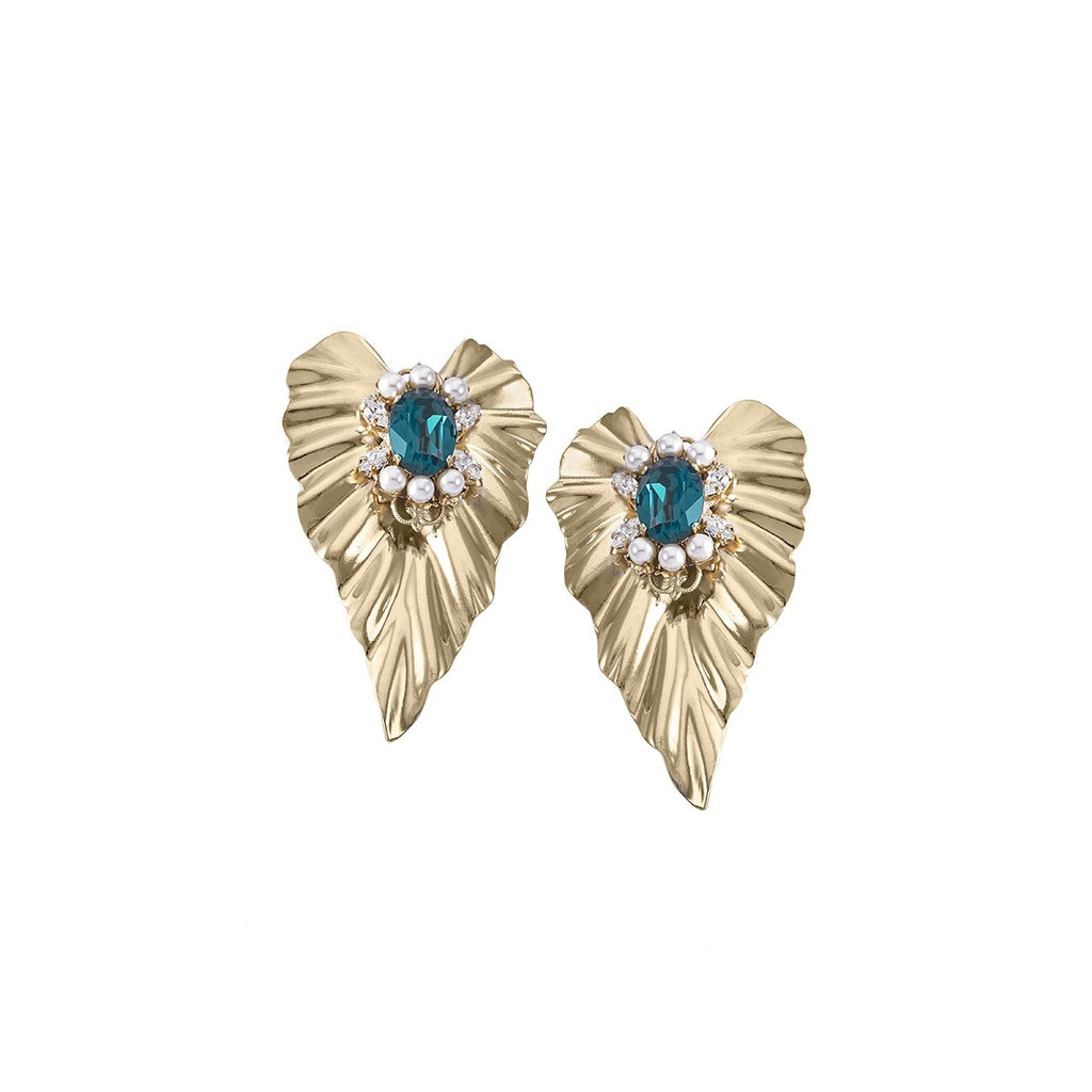 Emerald Ivy Earrings | Anton Heunis | Fashion Accessories | Earring