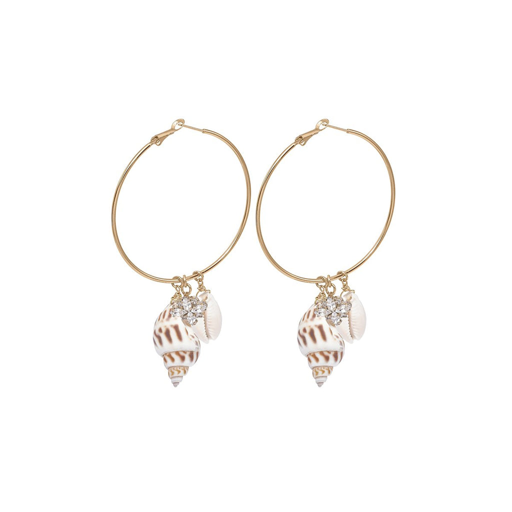 Hoop With Small Pendant Earrings | Anton Heunis | Fashion Accessories | Earrings