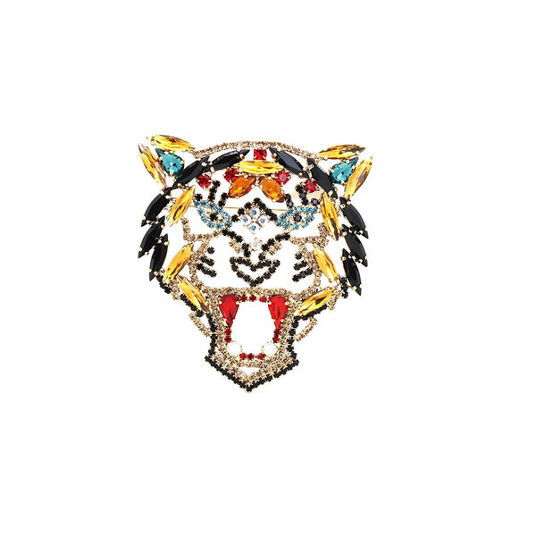 Tiger Fire Brooch | Lisa C | Fashion Accessories | Brooch