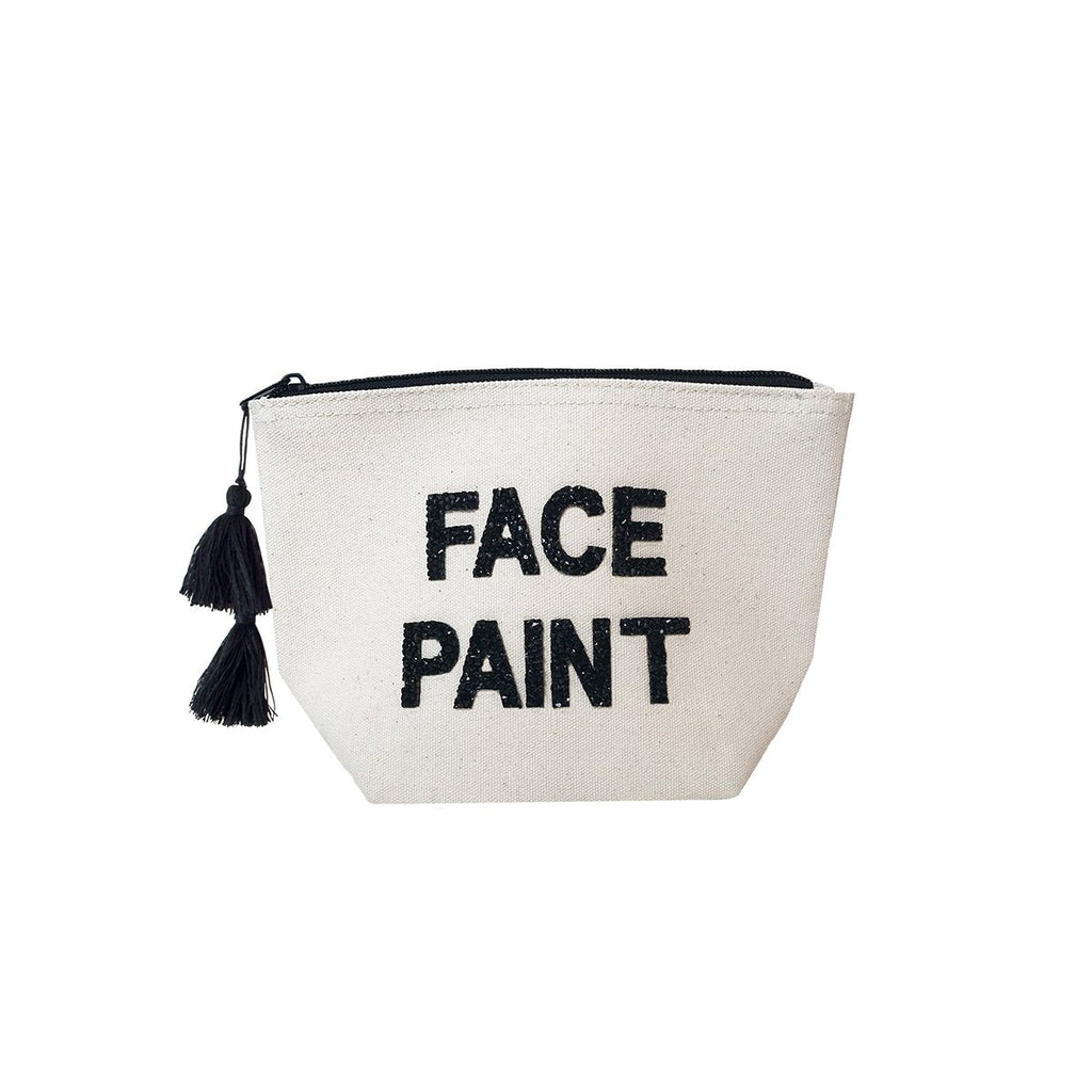 Face Paint Canvas Cosmetic Bag | Fallon & Royce | Bag | Beauty Cases