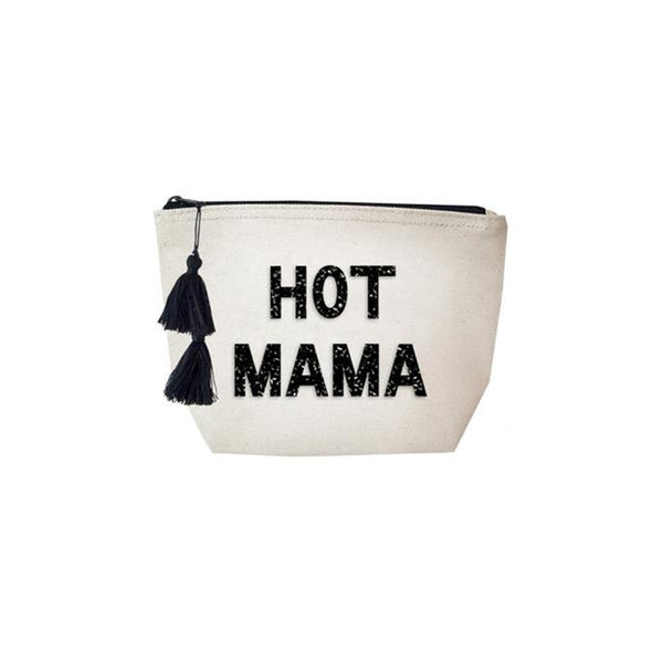 Hot Mama Canvas Cosmetic Bag | Fallon & Royce | Bag | Beauty Cases