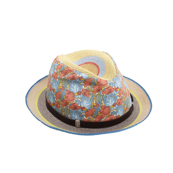 Manila Braided Hemp Trilby Hat | Grevi |Fashion Accessories | Hats