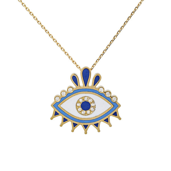 18K Gold Queen Eye Necklace | Latelier Nawbar | Fine Jewelry | Necklace