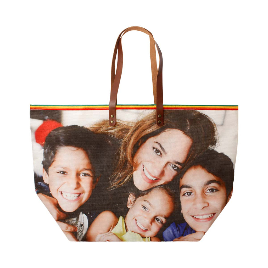 Customizable Personalized family beach bag