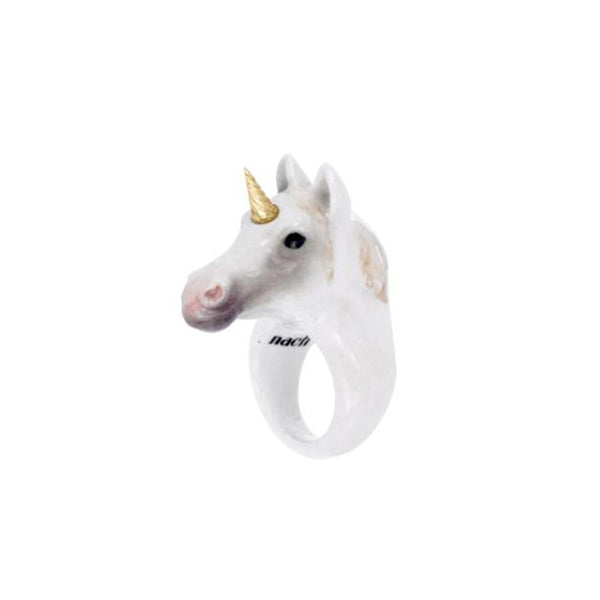 Gold Unicorn Ring | Nach Bijoux | Fashion Accessories | Ring