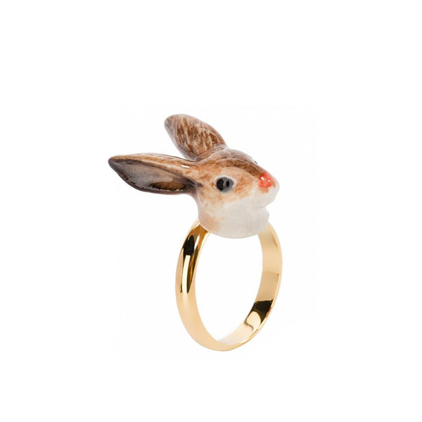 Brown Rabbit Ring | Nach Bijoux | Fashion Accessories | Ring