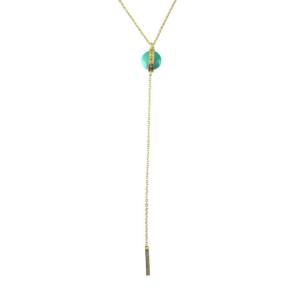 Lariat Necklace | Marcia Moran |Fashion Accessories | Necklace