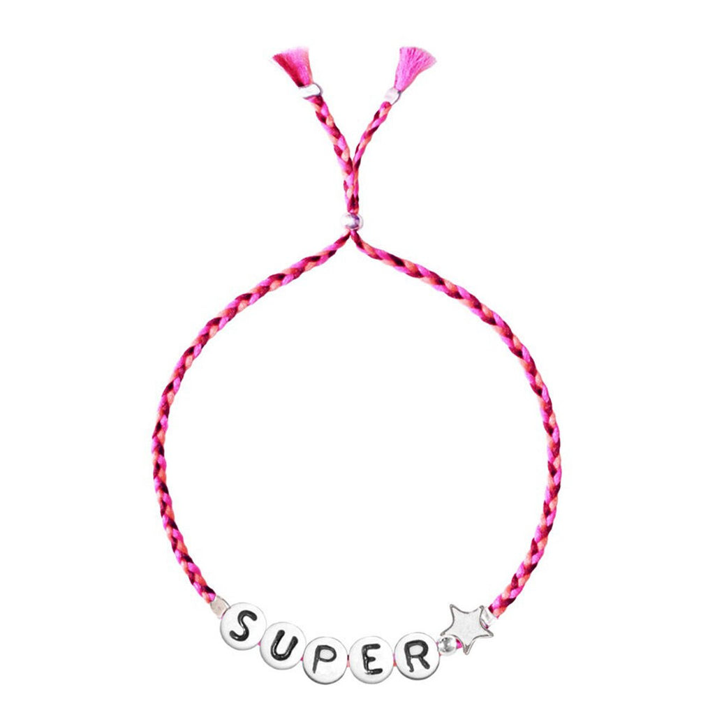 Super Star Red Ribbon Bracelet| Sorbet Bracelet | Pouch Bag | Bag