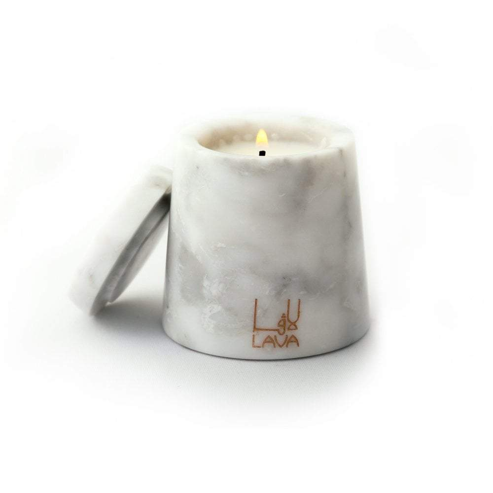 Mineral Essence Mini Marble Candle | Lava Candles | Home Accessories | Candles