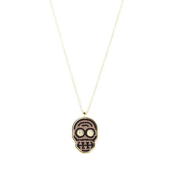 Small Skull Necklace | Morena Marini | Fashion Accessories |Necklace