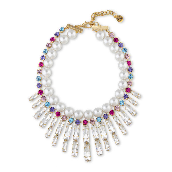 Baguettes Short Necklace | Zayn | Fashion Accessories | Necklaces
