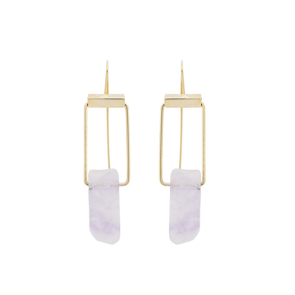 Amethyst Earrings | Monmu Jewelry | Fashion Accessories | Earrings