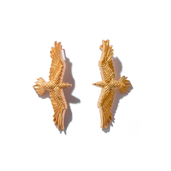 Small Eagle Earrings | Natia X Lako |Fashion Accessories | Earrings