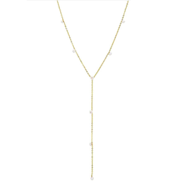Pearl Y Necklace| Tai | Fashion Accessories | Necklace