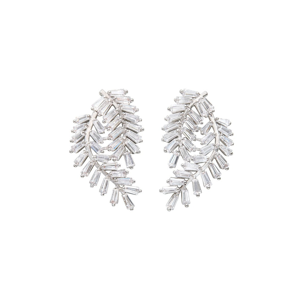 Deco Fern Stud Earrings | Fallon | Fashion Accessories | Earrings