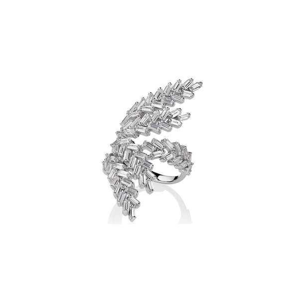 Manarch Deco Fern Ring | Fallon | Fashion Accessories | Ring
