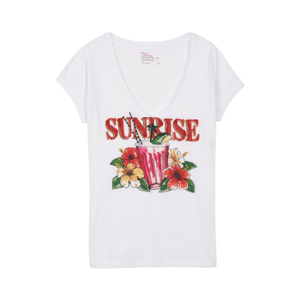 Ton Ton Sunrise Carbone T Shirt | Leon & Harper | Clothes | Tops