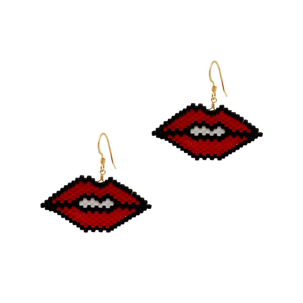 Lips Earrings | Bara Boheme | Fashion Accessories | Earrings