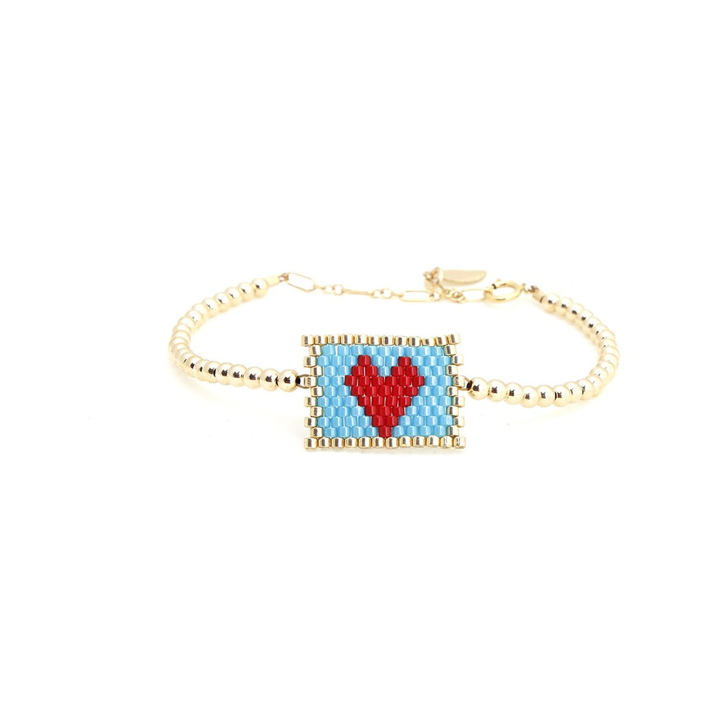 Love Letter Ball Bracelet | Bara Boheme | Fashion Accessories | Bracelet