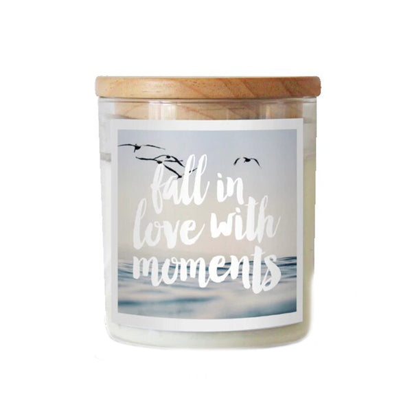 Fall In Love With Moments Soy Candle | The Commonfolk | Candles | Home Accessories