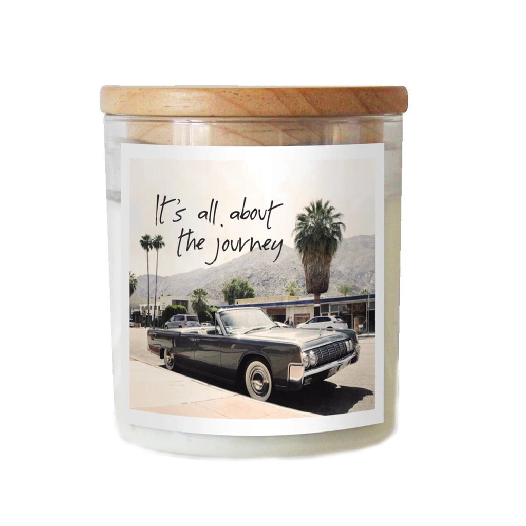It'S All About The Journey Soy Candle | The Commonfolk | Candles | Home Accessories