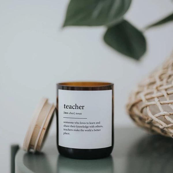 Teacher Dictionary Mid Soy Candle | The Commonfolk | Candles | Home Accessories
