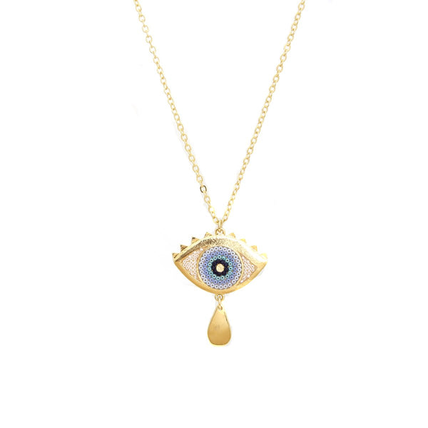 Protection Eye Necklace | Morena Corazon | Fashion Accessories | Necklaces
