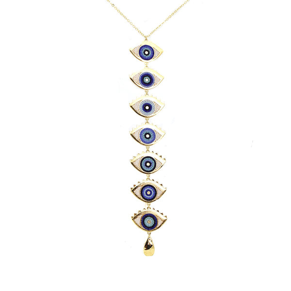 Eye Protection Long Necklace | Morena Corazon | Fashion Accessories | Necklaces