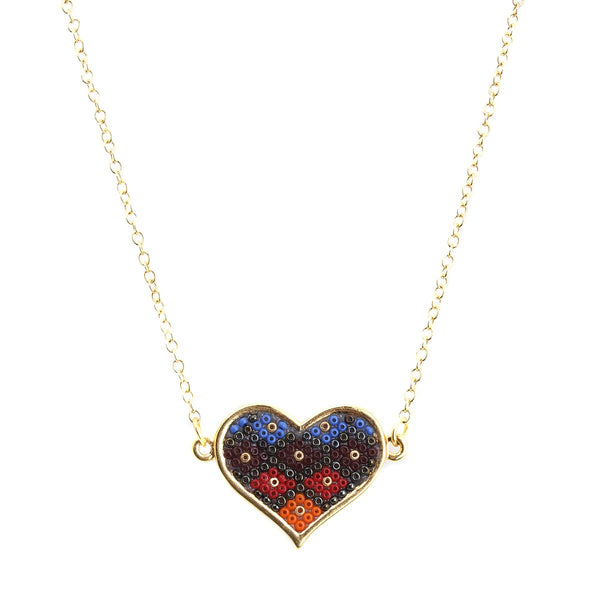 Girl Heart Neckalce | Morena Corazon | Fashion Accessories | Necklaces