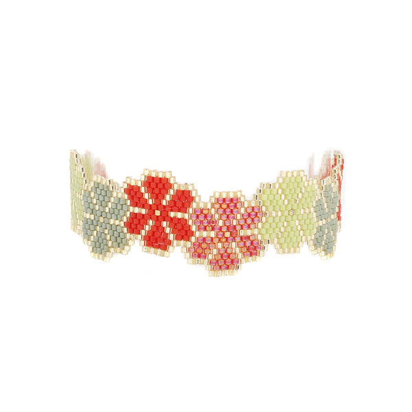 Miyuki Floral Design Bracelet | Morena Corazon | Fashion Accessories | Bracelets