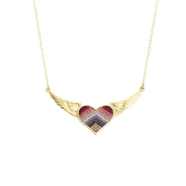 Corazon Wings Necklace | Morena Corazon | Fashion Accessories | Necklaces