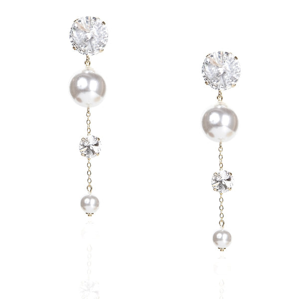 Big Pearl Long Earrings | Zayn | Fashion Accessories | Earrings