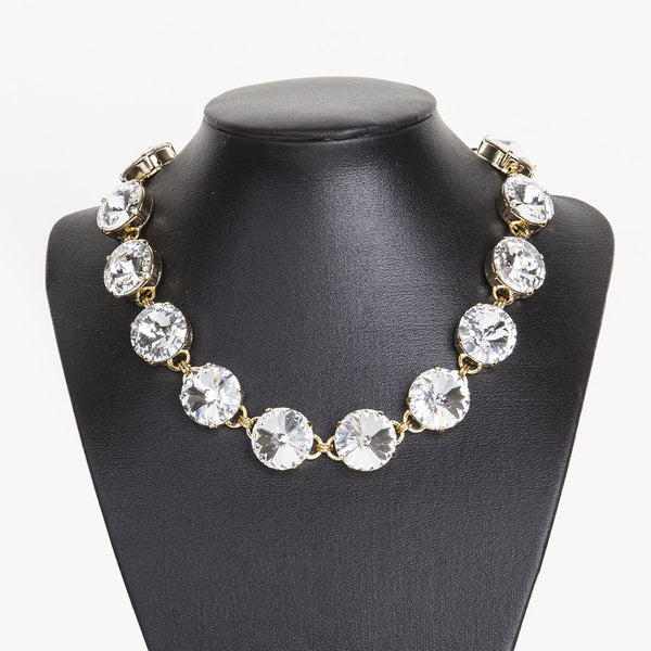 Big Round Crystals Choker | Zayn | Fashion Accessories | Necklace
