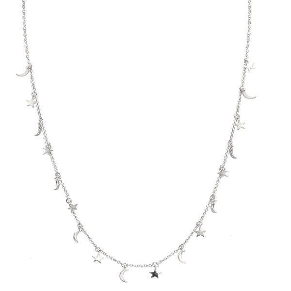 Delicate Celestial Extra Mini Charms Necklace | Tai | Fashion Accessories | Necklace