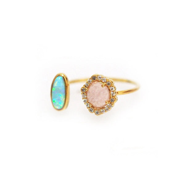 Rock Crystal Opal Ring | Tai | Fashion Accessories | Ring