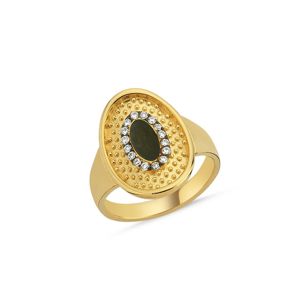 14K Gold Memories White Diamonds Ring | Lope | Fine Jewelry | Ring