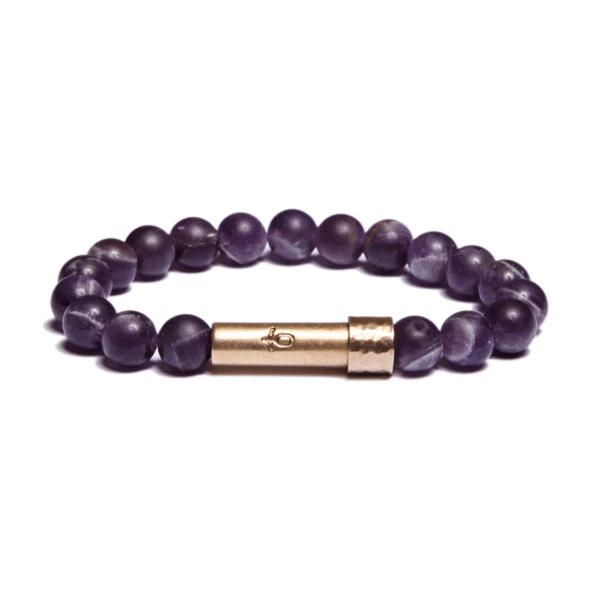 Matte Amethyst Bracelet | Wish Beads | Fashion Accessories | Bracelet