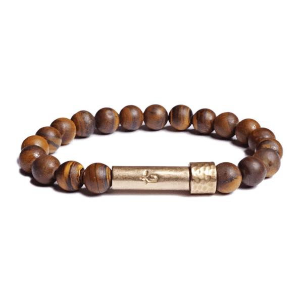 Matte Tiger Eye Bracelet | Wish Beads | Fashion Accessories | Bracelet