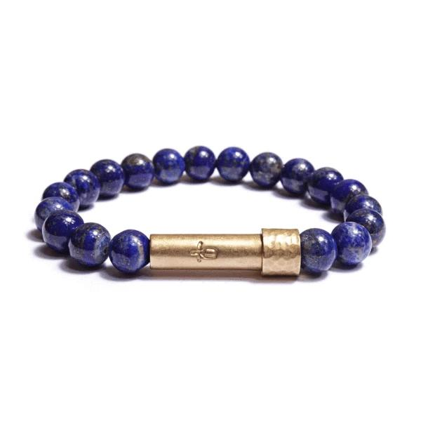 Polished Lapi Lazuli Bracelet | Wish Beads | Fashion Accessories | Bracelet