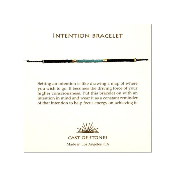 Turquoise Intention Bracelet | Cast of Stones | Fashion Accessories | Necklace