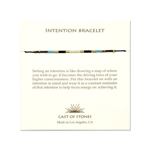 Indian Summer Intention Bracelet | Cast of Stones | Fashion Accessories | Necklace