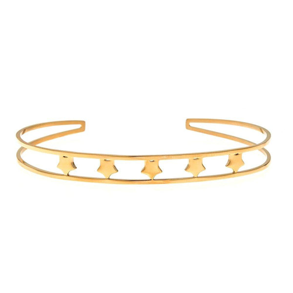 Yellow Five Star Bangle | Maya J | Fashion Accessories | Bracelet