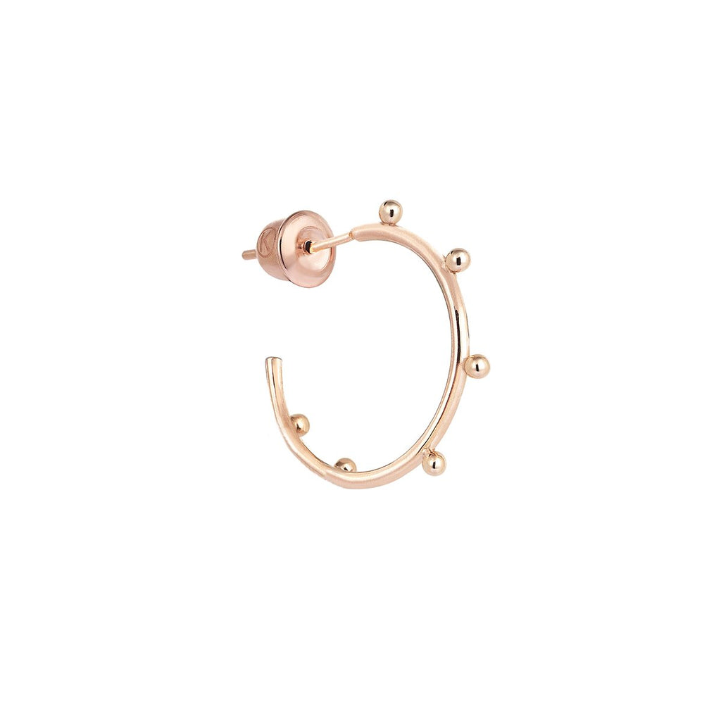 14K Rose Gold 6 Balls Earring | Kismet by Milka | Fine Jewelry | Earrings